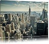 Dark New York bei TagFormat: 120x80auf Leinwand, XXL