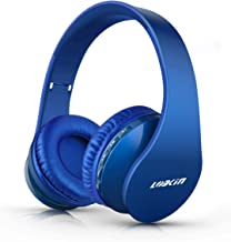 LOBKIN Bluetooth Headphones Over Ear, Stereo Wireless Headset with Microphone, Foldable..