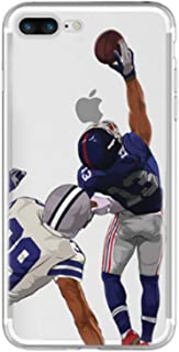 TorontoFinds, Custom Cases for Men and Women, Silicone Shock and dust Resistant Protective Cases, Beckham Football case Compatible with iPhone (iPhone 6/6s)
