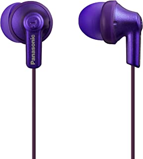 Panasonic Ergofit In-Ear Earbud Headphones Metallic Violet (RP-HJE120-VA)