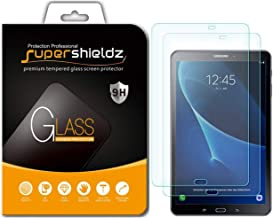 (2 Pack) Supershieldz for Samsung Galaxy Tab A 10.1 (SM-T580 and SM-T587 Model 2016 Release) Screen Protector, (Tempered Glass) Anti Scratch, Bubble Free