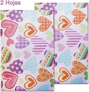 Starplast, Papel Goma Eva Decorado, 2 Hojas, 20 cm x 30 cm,
