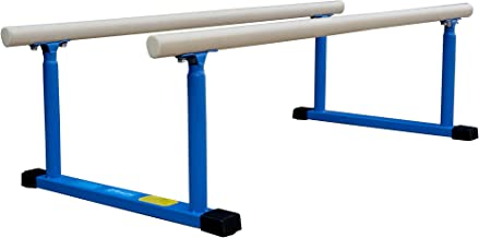 Z-Athletic Gymnastics Parallel Bars for Home or Gym Use with Optional Mat