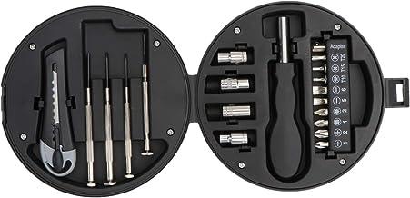 NICEXMAS Conjunto de Brocas de Fenda Ferramentas de Hardware Doméstico Com Kit de Chave de Fenda de Hardware Portátil Cria...