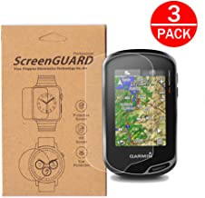 [3-Pack] For Garmin 750 750t Screen Protector,Full Coverage Screen Protector for Garmin Oregon 600t 650 650t 700 750 750t Handheld GPS HD Clear Anti-Bubble and Anti-Scratch