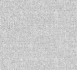 awallo Papel pintado de fieltro con aspecto de lino grueso, 10,05 m x 0,53 m, gris, fabricado en Alemania, 354426 3544-26
