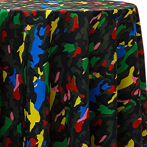 Ultimate Textile Max 46% OFF Woodland Camo Animal T Round Patterned 102-Inch Save money