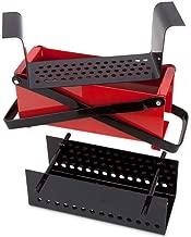 Bits and Pieces - Newspaper Briquet Maker-Heavy Duty Steel Press Paper Log Maker - Brick Press Measures 10-1/4