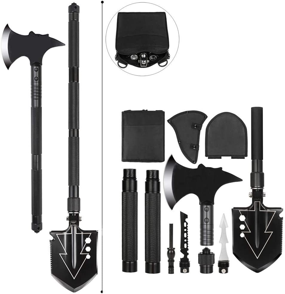 Multitool SurvivalShovel with Camping Military Folding Financial sales Sale sale Axe