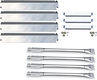 Direct Store Parts Kit DG100 Replacement Charbroil Gas Grill Burners,Heat Plates and Crossover Tubes