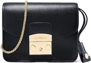 LA'FESTIN Mini Crossbody Purse for Women Fashion Chain Shoulder Bag Formal Casual Style
