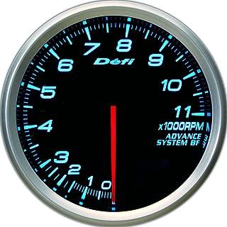 Defi DF11003 Advance BF Tachometer, 11000 RPM, Blue, 80mm