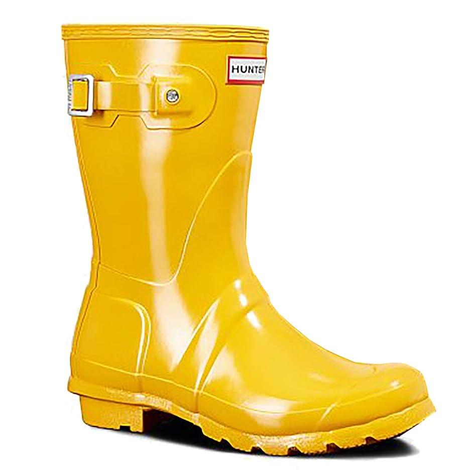 足受け入れもう一度[Hunter] レディース Original Short Gloss Boot US サイズ: 6 M US カラー: イエロー