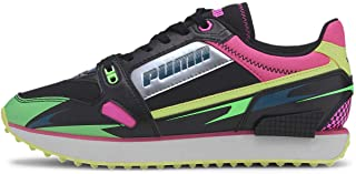 PUMA Womens Mile Rider Sunny Gataway WNS Lifestyle Lace-Up Fashion Sneakers