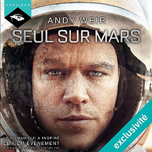 Seul sur Mars audiobook cover art