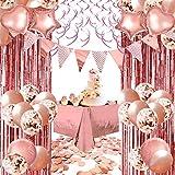 YINVA Rose Gold Party Decoration...