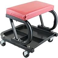 vinmax Rolling Creeper Seat Mechanic Stool Chair Repair Tools Car Repair Roller Seat Auto...