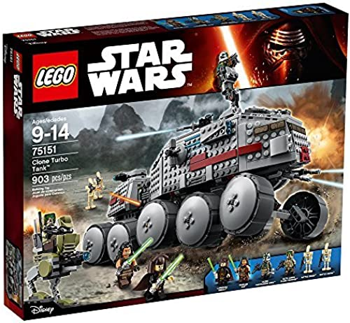 LEGO Star Wars Clone Turbo Tank with Jedis, Battle Droids, and AT-RT   75151 by LEGO