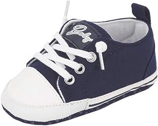 Zapatos para bebé Auxma La Zapatilla de Deporte Antideslizante del Zapato de Lona de la Zapatilla de Deporte para 3-6 6-12...