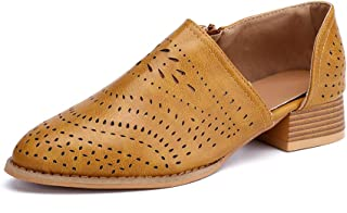 16a49968 Zapatos de Vestir Mujer Planas Derby Transpirable Oxford Casual Fiesta  Sandalias Primavera Verano Calzado Tacón 3cm
