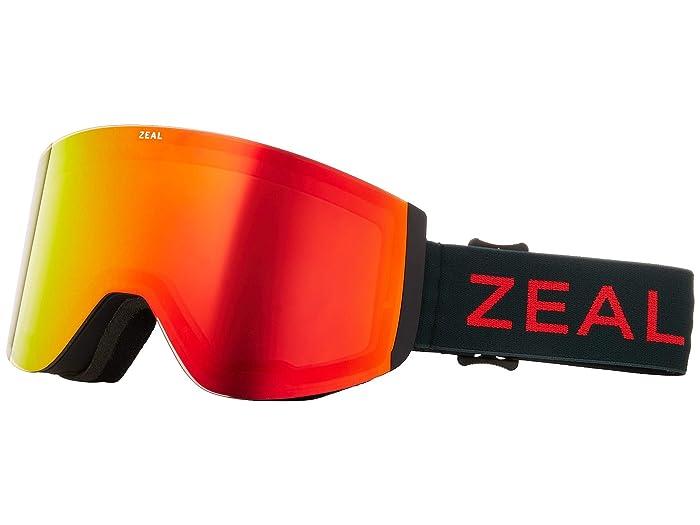 Zeal Optics Hatchet (Ember Forest w/ Phoenix Mirror + Sky Blue Mirror) Snow Goggles