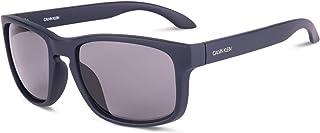 نظارة Ck19566s بتصميم مستطيل للرجال من كالفن كلاين