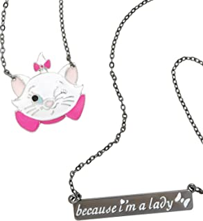 Spider-Man Disney The Aristocats Marie Double Chain Necklace Set