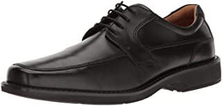 Men's Seattle Apron Toe Tie Oxford, Black, 42 EU/8-8.5 M US
