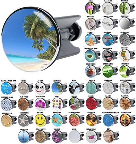 Waschbeckenstöpsel Karibik, viele schöne Waschbeckenstöpsel zur Auswahl, hochwertige Qualität ✶✶✶✶✶