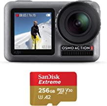 $349 Get DJI OSMO Action Camera with SanDisk 256GB Extreme microSDXC UHS-I Memory Card