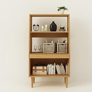 Estantería de oficina WWWANG, estantería para libros con 3 animales, 624 x 300 x 1125 mm, 3 colores opcionales, MDM, blanco, WHITE