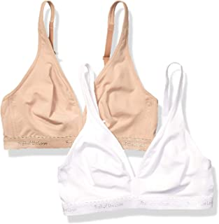 Fruit of the Loom Women's Wirefree Bralette 2 Pack