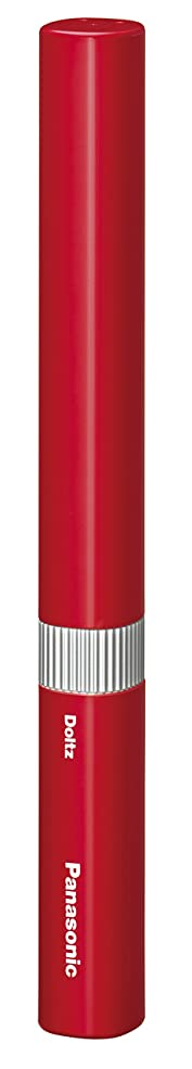 消す愛情うがい薬パナソニック 電動歯ブラシ ポケットドルツ 赤 EW-DS1B-R