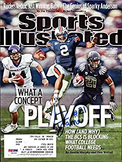 LaMichael James Autographed Sports Illustrated Magazine Cover Oregon Ducks PSA/DNA #Z83330