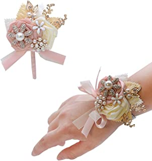 Best light pink boutonniere and corsage Reviews
