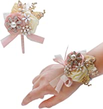 Best rhinestone bracelet wrist corsage Reviews