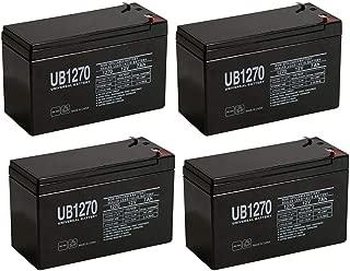 Universal Power Group NEW 12V 7AH 7.5ah 8ah 12 Volt SLA Sealed Lead Acid Fish Finder Battery - 4 Pack