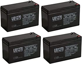 GP1272 F2 GP 1272 BATTERY 12V 28W 7.2AH - 4 Pack