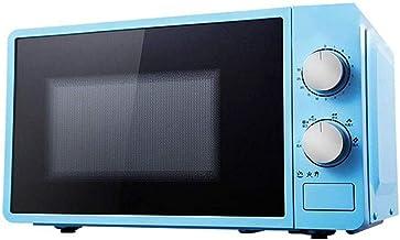 ZHJ Horno microondas Temporizador con una Sola pulsación de COCCIÓN fácil de Limpiar diseño con Estilo 20L Horno (Color : Blue)