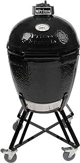 Primo Round LG 280 Ceramic Smoker Grill On Cradle