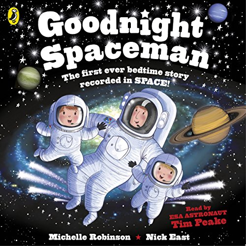 Goodnight Spaceman audiobook cover art