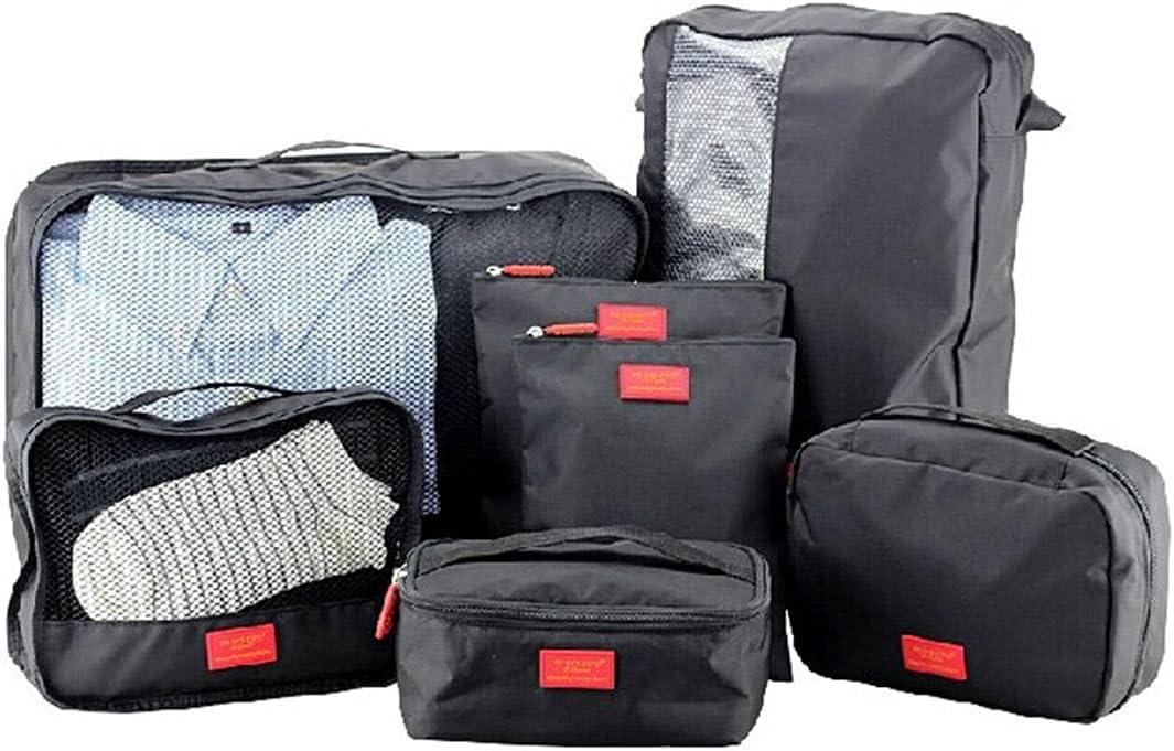 Xucage Packing Cubes Dedication for Travel 7 Ranking TOP6 Toi PCS Storage Bag Waterproof
