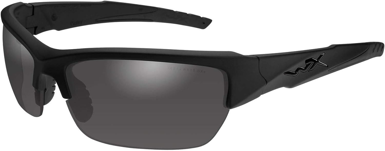 Wiley X Valor Matte Black Frame with Polarized Grey Lenses