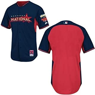 VF National League MLB 2014 All-Star Authentic Batting Practice/Home Run Derby Jersey Navy Blue Adult Sizes