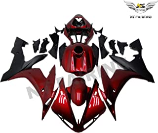NT FAIRING Complete Red Black Injection Mold Fairing Fit for Yamaha 2004 2005 2006 YZF R1 R1000 YZF-R1 New Painted Kit ABS Plastic Motorcycle Bodywork Aftermarket