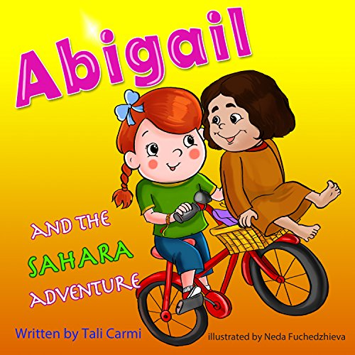 Abigail and the Sahara Adventure audiobook cover art