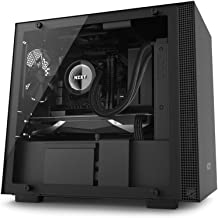 NZXT H200 - Mini-ITX PC Gaming Case - Tempered Glass Panel - Enhanced Cable Management System - Water Cooling Ready - Black - 2018 Model