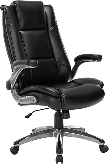 STARSPACE Executive Computer Desk Chair With Adjustable Lumbar Support Knob