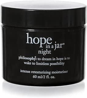 Philosophy Hope in a Jar Night Intense Retexturizing Moisturizer, 2 oz.