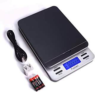 Fuzion Shipping Scale, Accurate Digital Postal Scale 86 lb/0.1 oz with Hold and Tare Function, LCD Display, Auto-Off, Post...